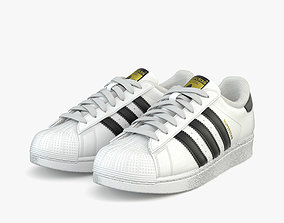 Adidas Superstar 3D model