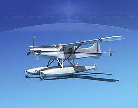 DeHavilland DHC-2 Turbo Beaver V16 3D