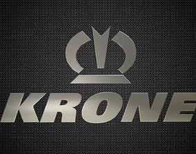 krone logo 3D