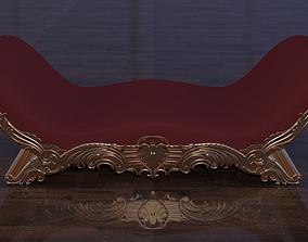 Couch Dewan 3D asset VR / AR ready