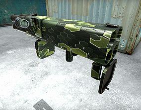 XM202 Rocket Launcher 3D model