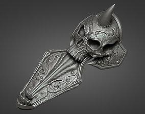 3D print model Lich King armor - leg 2