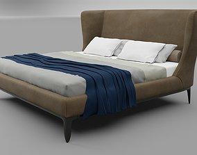 Poliform Gentleman bed 3D