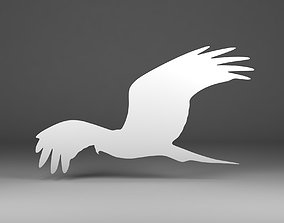 3D printable model Bird silhouette
