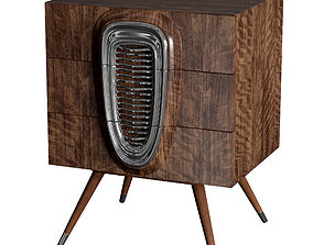 Jonathan Charles Americana Chest of Drawers 3D