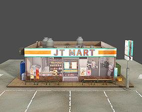 Convenience Store 3D asset