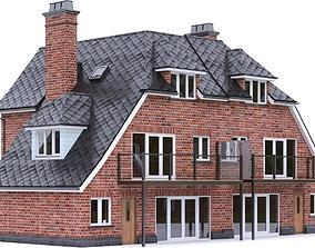 English Brick House 13 3D model