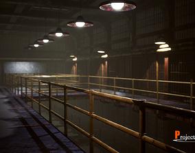 UE4 Prison Package V1- v002 3D model