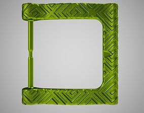 3D printable model Belt Buckle 4