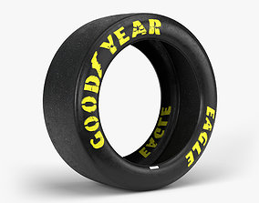 3D model Goodyear Eagle Tire sidewall