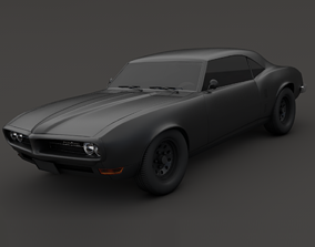 3D model Pontiac Firebird V2 Matte black