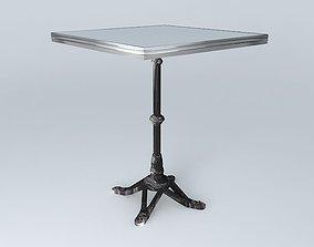 BISTRO TABLE SQUARE ARDAMEZ Company 3D table