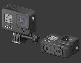 travel 3D model GoPro HERO 8 Black Edition