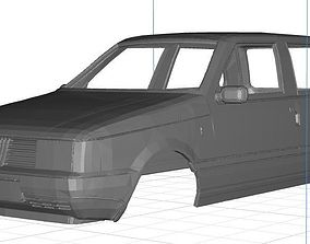 3D print model Fiat Uno MK1 Body Car