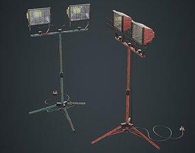 3D model Mobile Construction Light 1B