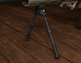 Bipod 3D model