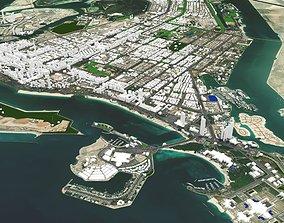 3D model Abu Dhabi United Arab Emirates
