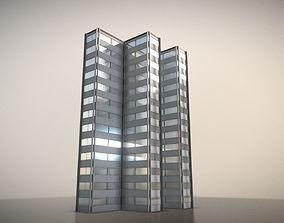 3D City Building Design F-1