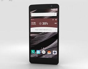 3D model LG Isai Vivid LGV32 Black mobile