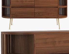 Joybird Vira Console Cabinet 3D