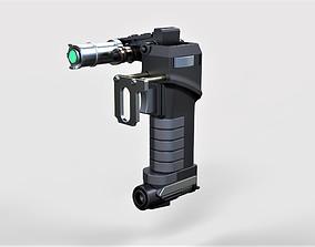 Tolian Soran Energy pistol from Star 3D printable model 1