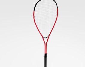 Squash Racquet 3D