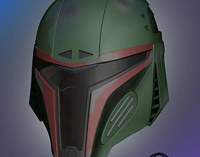 Mandalorian Helmet games 3D printable model