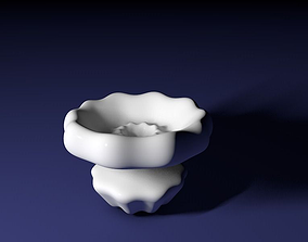 Curvy vase 3D printable model