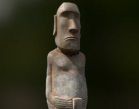 3D model Easter Island Statue