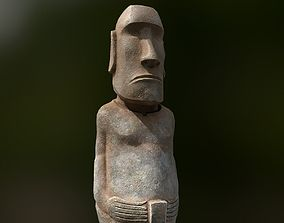 3D model Easter Island Statue