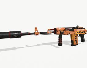 3D model AK-47 Stylized