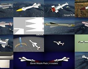 Soviet Missile Pack 3D model
