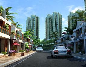 3d Villa 059 cityscape