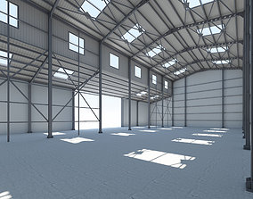 Warehouse 2 Low Poly 3D model