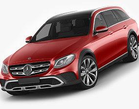 3D Mercedes E-class All-Terrain 2017