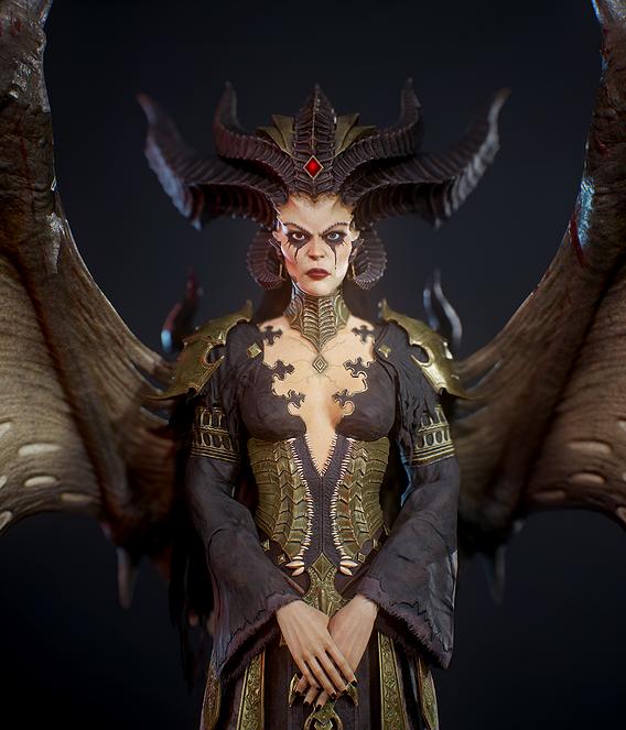 Lilith Diablo 4 fan art