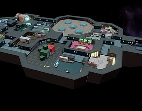 3D asset game-ready Among us