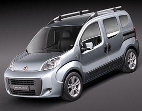 3D model Fiat Fiorino Qubo