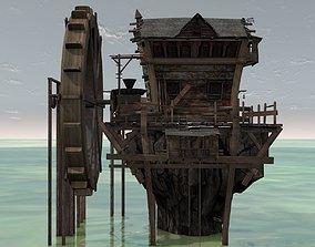 Swamp House 3D model