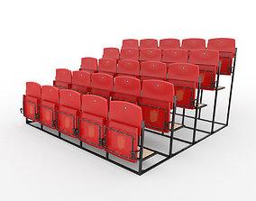 Stadium Seats 3D