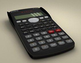 3D model Casio Scientific Calculator