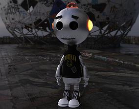 3D model Grungy Droid