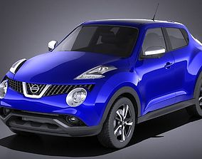 3D Nissan Juke 2015 VRAY