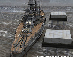 USS Nevada for Poser 3D model