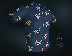 3D asset Summer Shirt 2