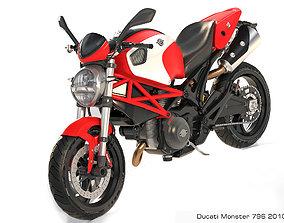 3D Ducati Monster 796