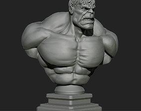 3D printable model comics Hulk bust