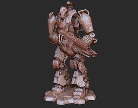 Mega Mech DeeBee Gears of War 3D Model STL File 3D Print