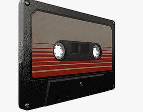 3D model Vintage Cassette