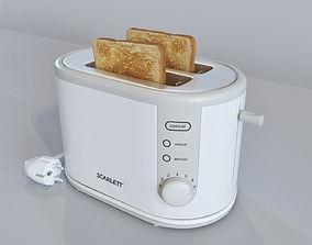 Toaster Scarlett SC-112 3D model